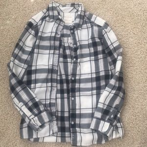 American Eagle women's flannel large